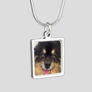 Happy Guida Silver Square Necklace