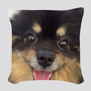 Happy Guida Woven Throw Pillow