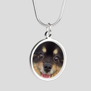 Happy Guida Silver Round Necklace