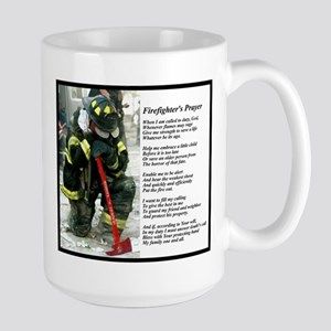 Old Version Firefighter Prayer Mugs