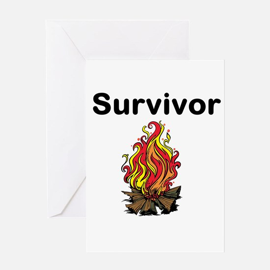 Survivor Greeting Cards