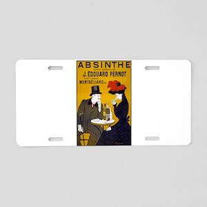 Absinthe, 1905 Aluminum License Plate