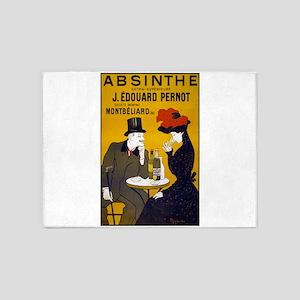 Absinthe, 1905 5'x7'Area Rug