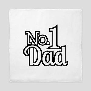 No.1 Dad Queen Duvet
