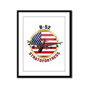 B-52 Stratofortress Framed Panel Print