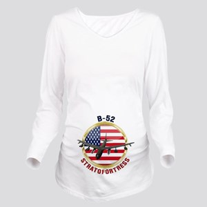 B-52 Stratofortress Long Sleeve Maternity T-Shirt