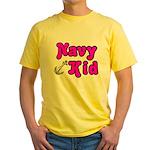 Navy Kid (pink) Yellow T-Shirt