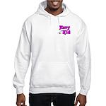 Navy Kid (pink) Hooded Sweatshirt