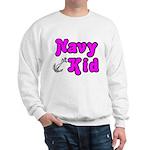Navy Kid (pink) Sweatshirt