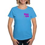 Navy Kid (pink) Women's Dark T-Shirt