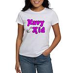 Navy Kid (pink) Women's T-Shirt