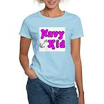Navy Kid (pink) Women's Light T-Shirt