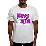 Navy Kid (pink) Light T-Shirt