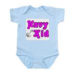 Navy Kid (pink) Infant Bodysuit