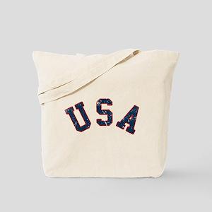 Vintage Team USA Tote Bag