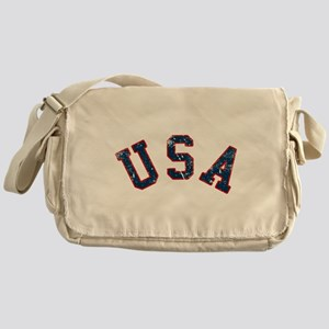 Vintage Team USA Messenger Bag