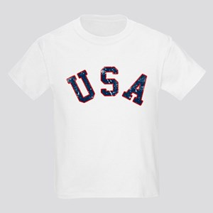 Vintage Team USA Kids Light T-Shirt