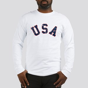 Vintage Team USA Long Sleeve T-Shirt