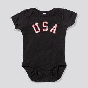 Vintage Team USA Baby Bodysuit