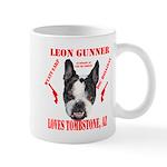 Leon Gunner Loves Tombstone Mugs