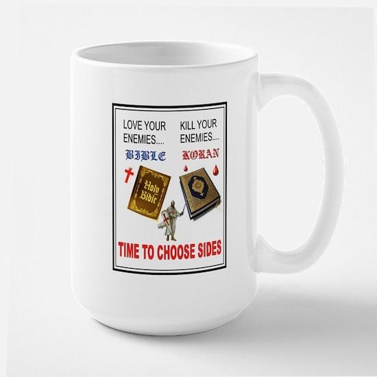 CHOOSE SIDES Mugs