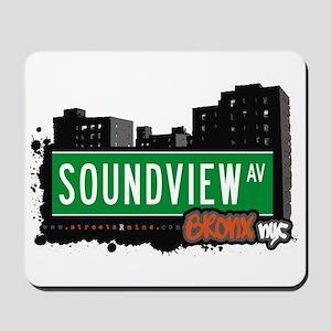 Soundview Av, Bronx, NYC  Mousepad