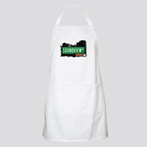 Soundview Av, Bronx, NYC  BBQ Apron
