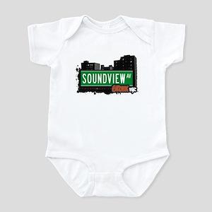 Soundview Av, Bronx, NYC  Infant Bodysuit