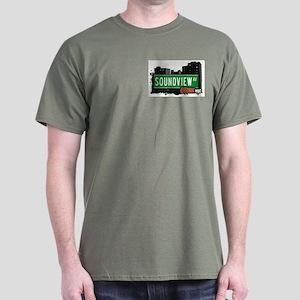 Soundview Av, Bronx, NYC  Dark T-Shirt