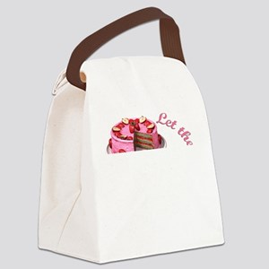 Let them eat cake! Canvas Lunch Bag