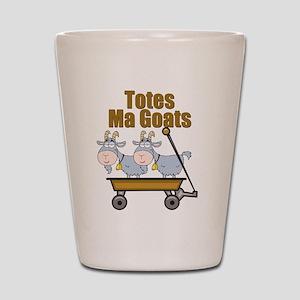 Totes Ma Goats Shot Glass