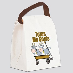 Totes Ma Goats Canvas Lunch Bag