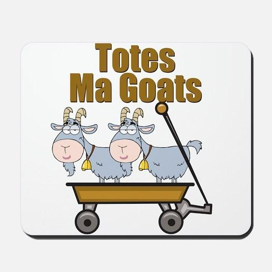 Totes Ma Goats Mousepad