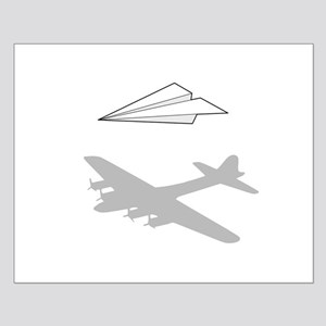 Paper Airplane Overactive Imagination Posters