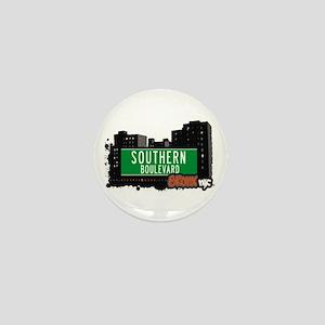 Southern Blvd, Bronx, NYC Mini Button