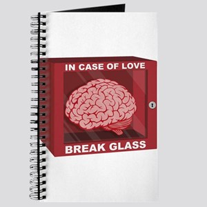 In Case Of Love, Break Glass and Use Brain Journal