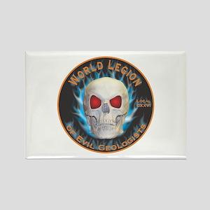 Legion of Evil Geologists Rectangle Magnet