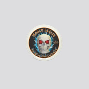 Legion of Evil Geologists Mini Button