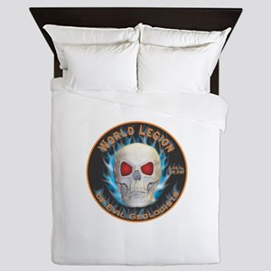 Legion of Evil Geologists Queen Duvet