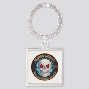 Legion of Evil Geologists Square Keychain