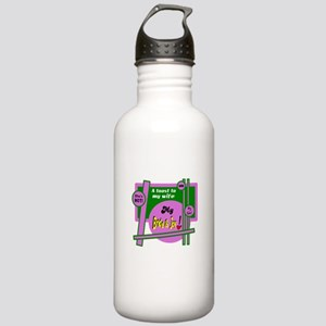 Bride And Joy-Toast To Wife Water Bottle