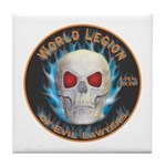 Legion of Evil Lawyers Tile Coaster