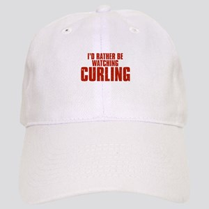 I'd Rather Be Watching Curling Cap