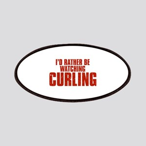 I'd Rather Be Watching Curling Patches