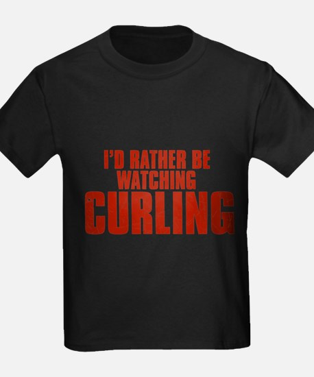 I'd Rather Be Watching Curling T