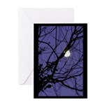 Air of Purple Greeting Card