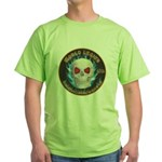 Legion of Evil Machinists Green T-Shirt