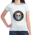 Legion of Evil Machinists Jr. Ringer T-Shirt