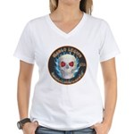Legion of Evil Machinists Women's V-Neck T-Shirt