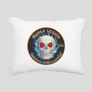 Legion of Evil Machinists Rectangular Canvas Pillo